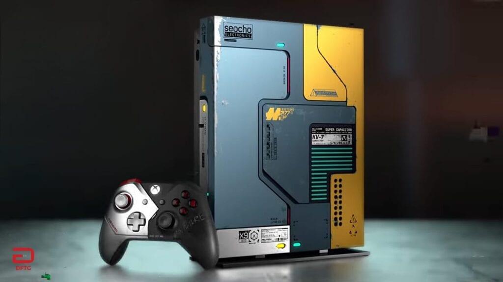 Cyberpunk 2077 Xbox One X Limited Edition