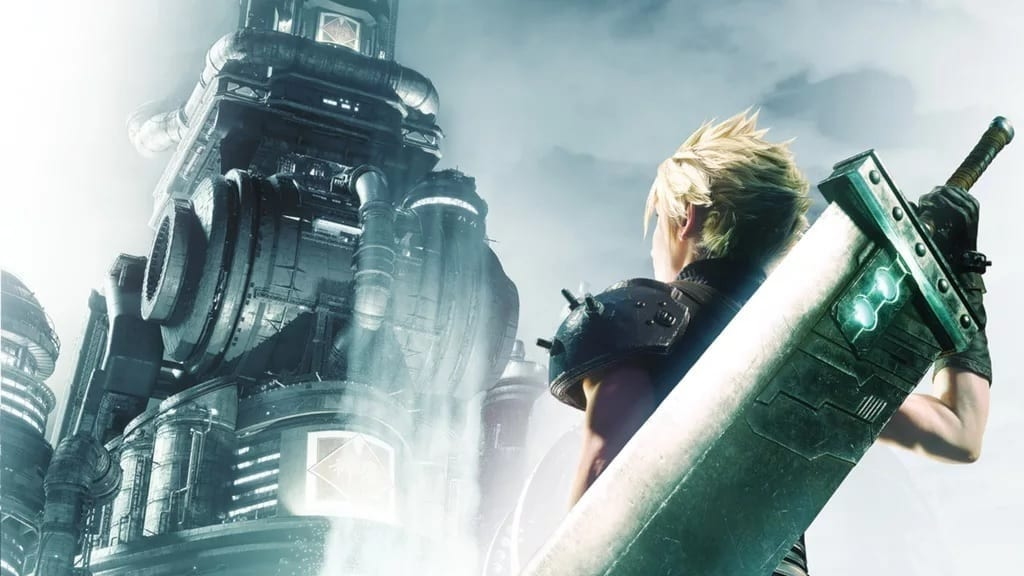 Final Fantasy VII Remake Fan Creates Impressive PS1 Game Case Using New Art