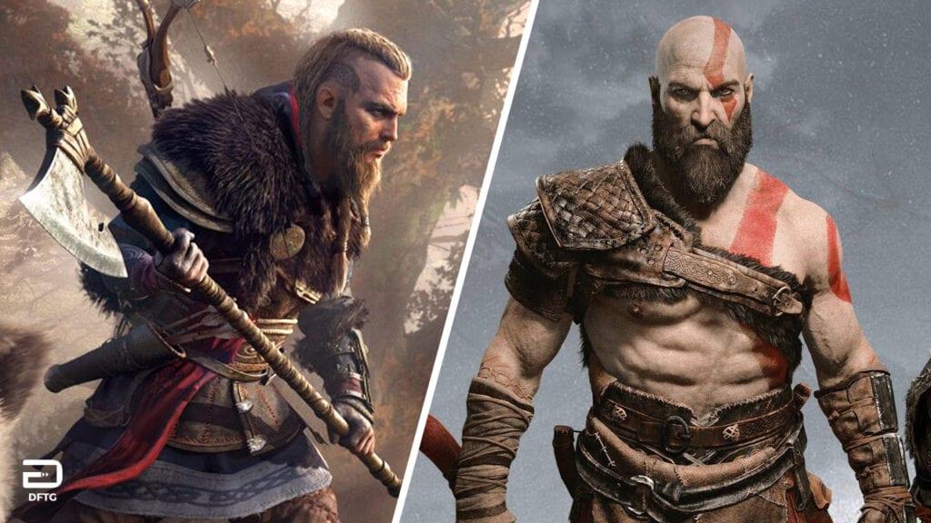 Assassin's Creed Valhalla God Of War