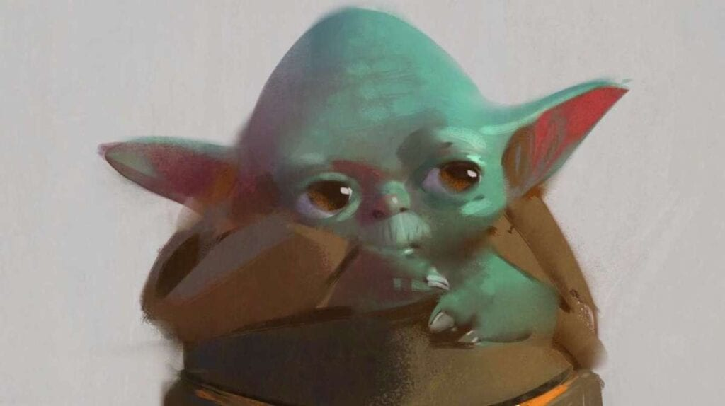 Baby Yoda Concept Art