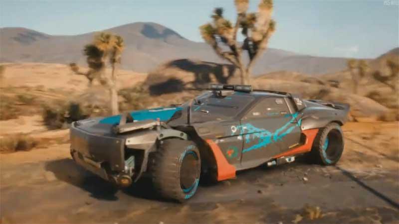 Cyberpunk 2077 Mad Max