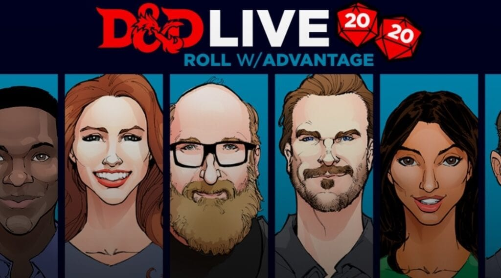 Dungeons & Dragons COVID-19 Charity Event Revealed With Star-Studded Celebrity Lineup