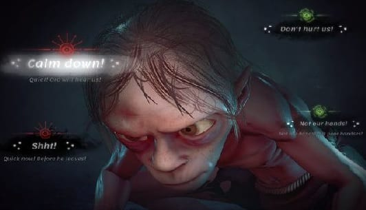 New The Lord of The Rings Gollum Game Images Revealed