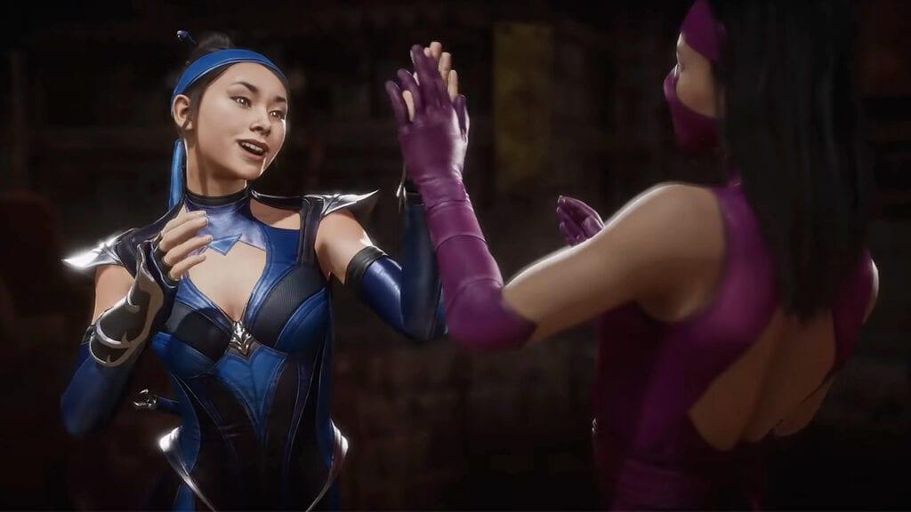 Mortal Kombat 11 Mileena Kitana Friendship