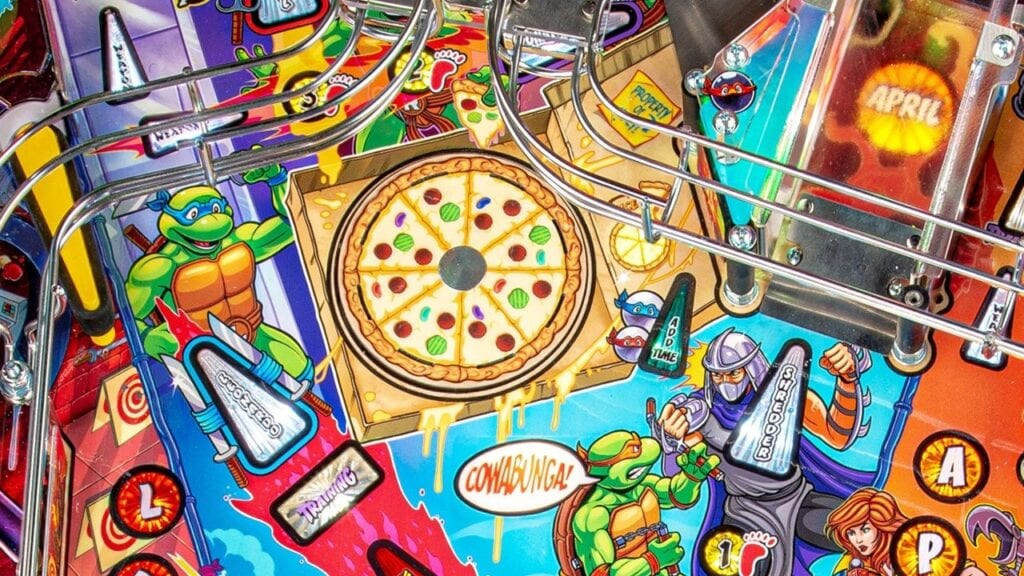 Ninja Turtles Pinball