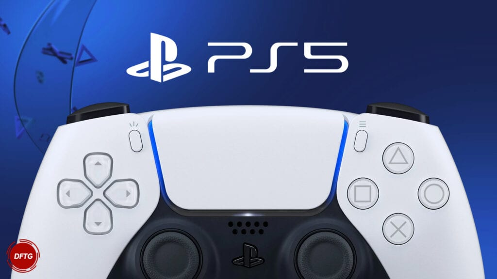 sony playstation 5 ps5 logo dualsense controller