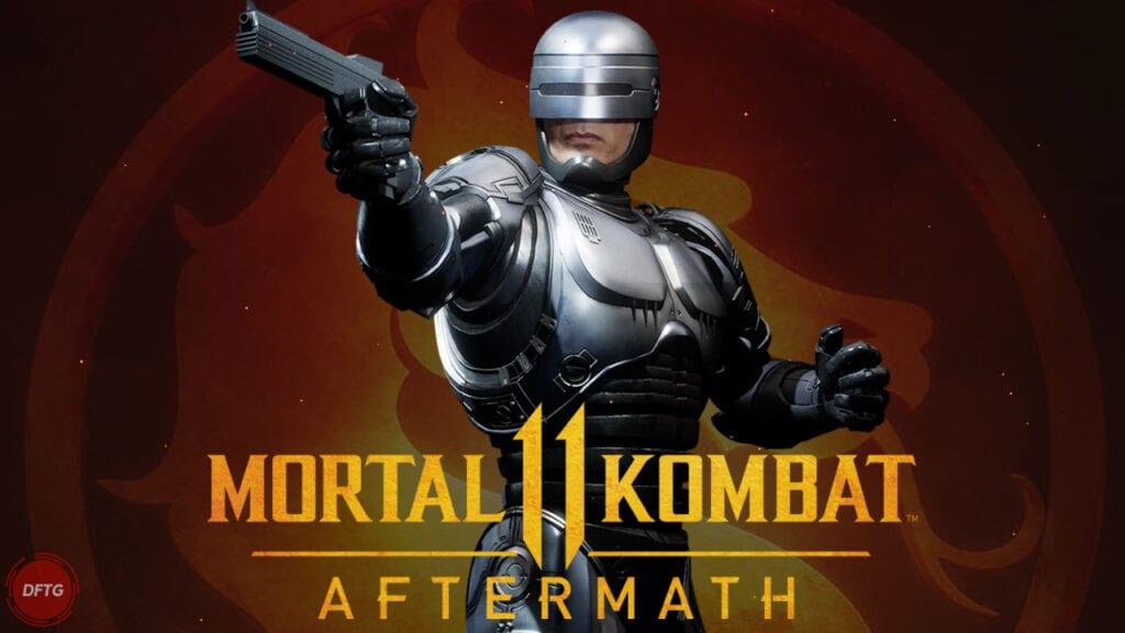 robocop mortal kombat 11 netherealm studios