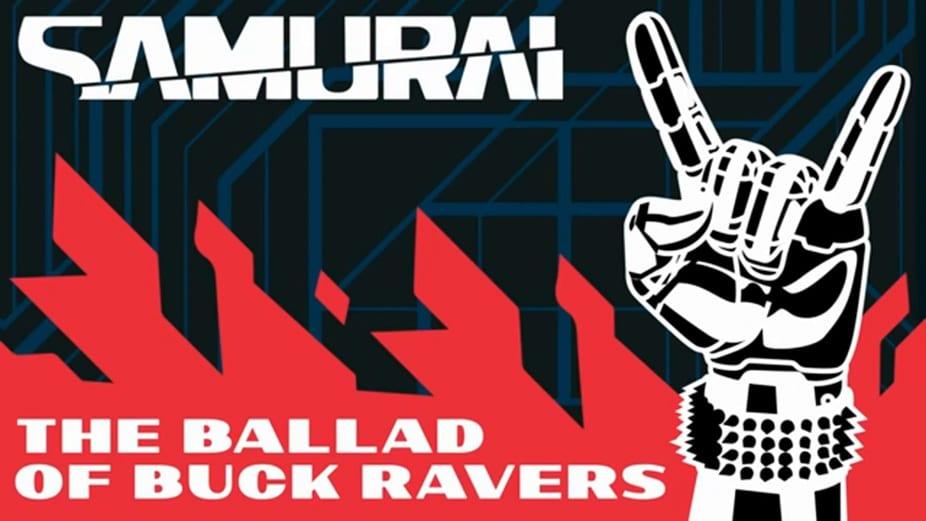 Cyberpunk 2077 Samurai The Ballad of Buck Ravers