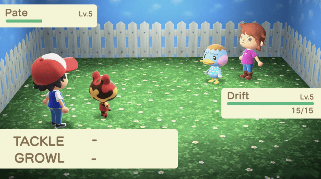Animal Crossing: New Horizons Pokémon