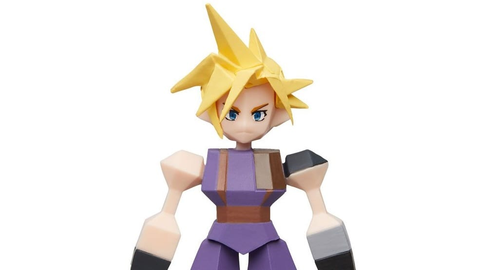Final Fantasy VII Polygon Figure Blind Box Now Available For Pre-Order