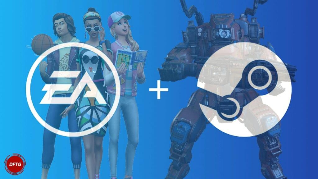 EA Steam Sims 4 Titanfall 2