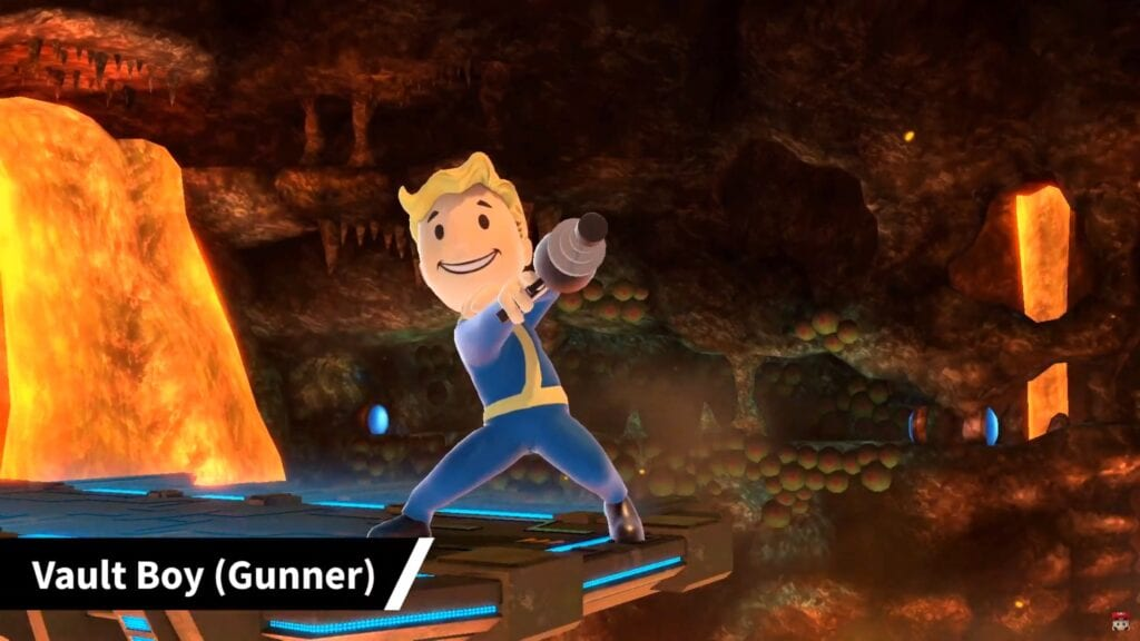 Super Smash Bros. Ultimate Adds Fallout's Vault Boy As New Fighter Costume