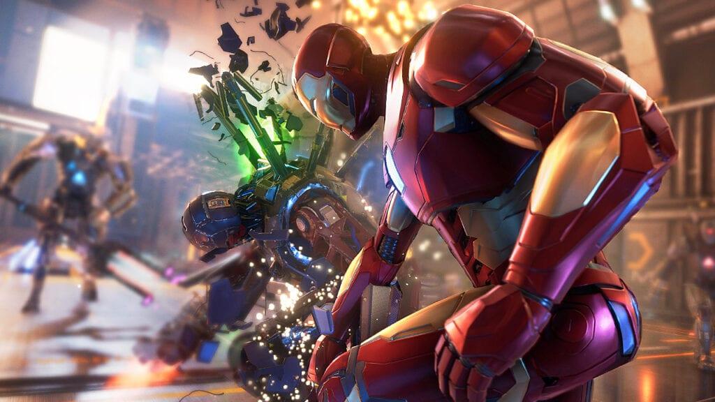 Marvel's Avengers PS5 Irion Man