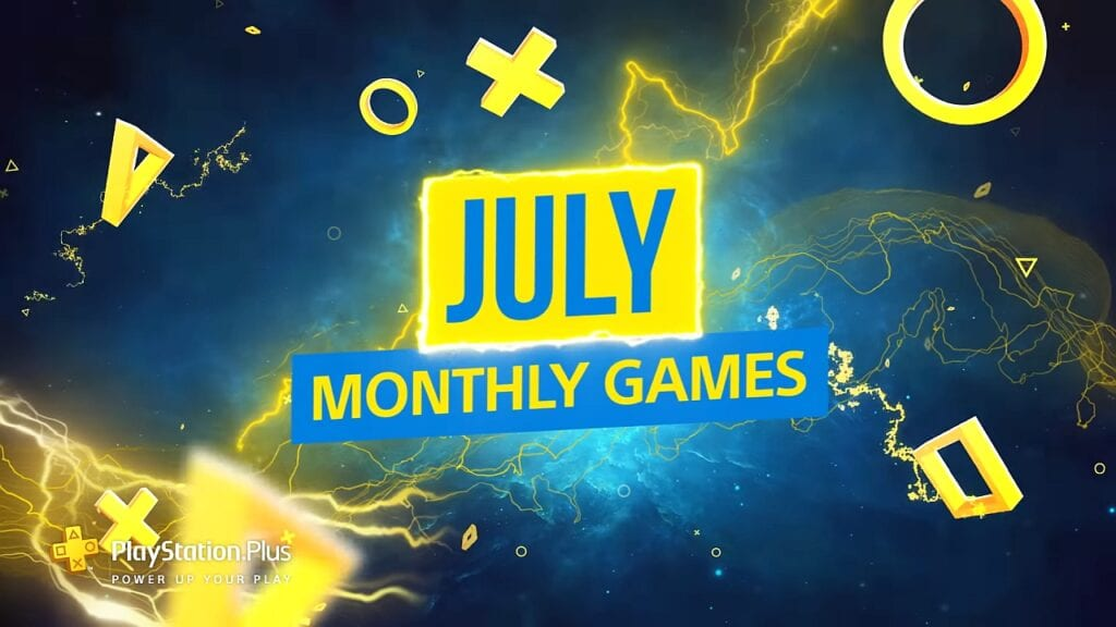 PS PlayStation Plus July