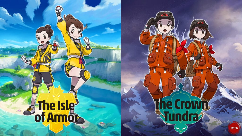 pokemon sword and shield isle of armor crown tundra