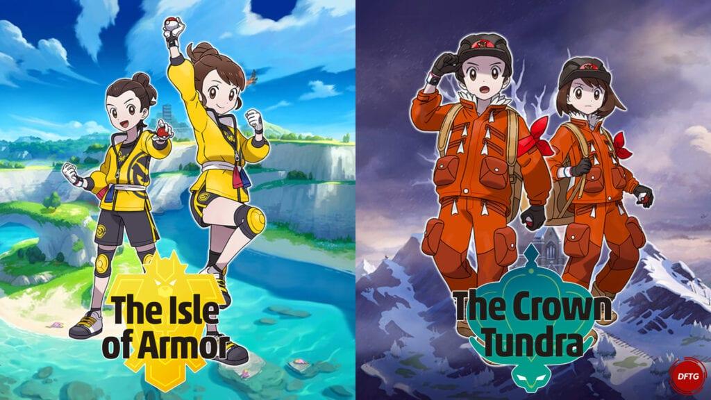 pokemon sword and shield isle of armor crown tundra