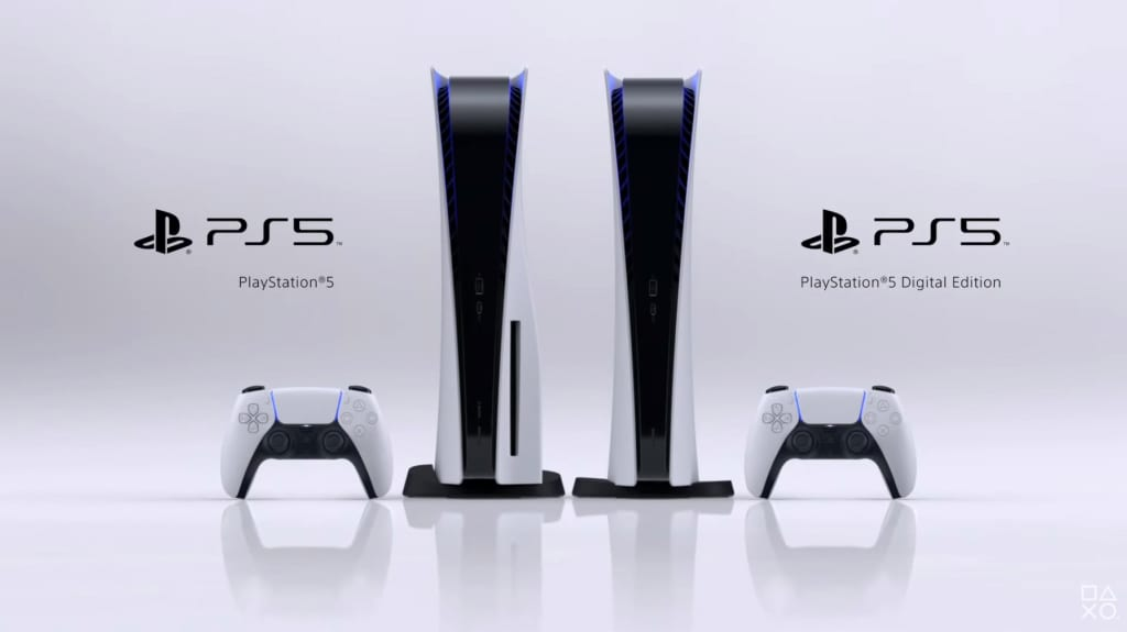 PlayStation 5 Console Design PS5