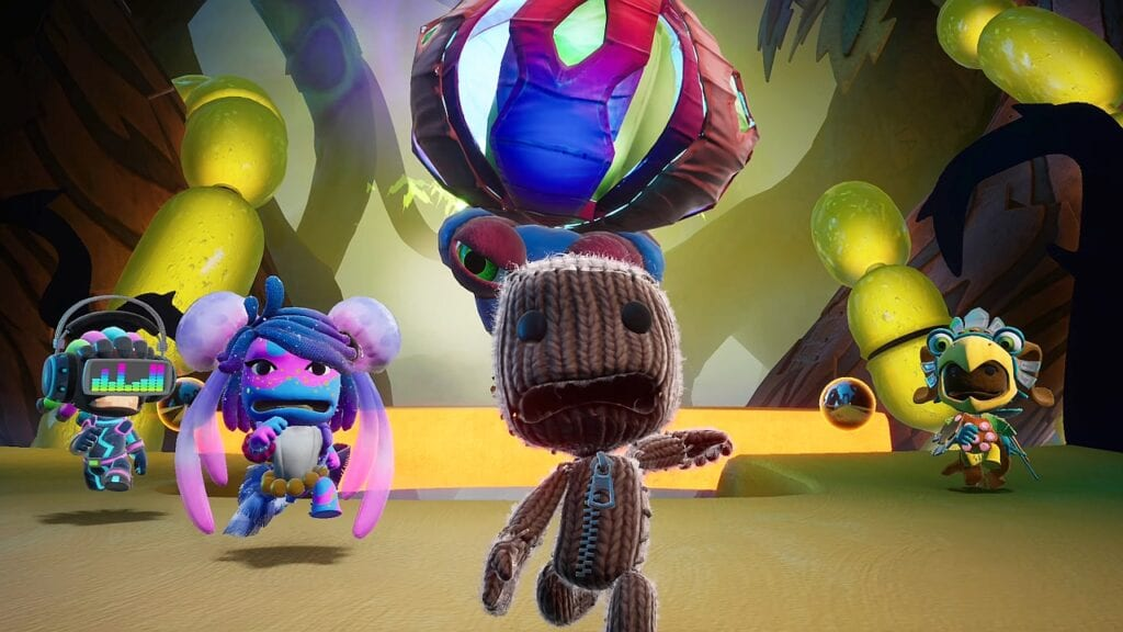 LittleBigPlanet Sackboy A Big Adventure