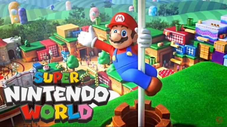 Super Nintendo World Opening Will Reportedly Be Delayed Due To Coronavirus