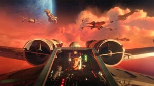 Star Wars: Squadrons X wing