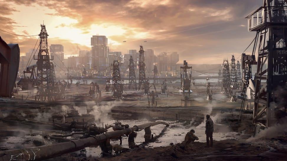 Cyberpunk 2077 Badlands Concept Art