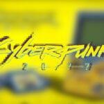 Cyberpunk 2077 Game Boy Fan Render