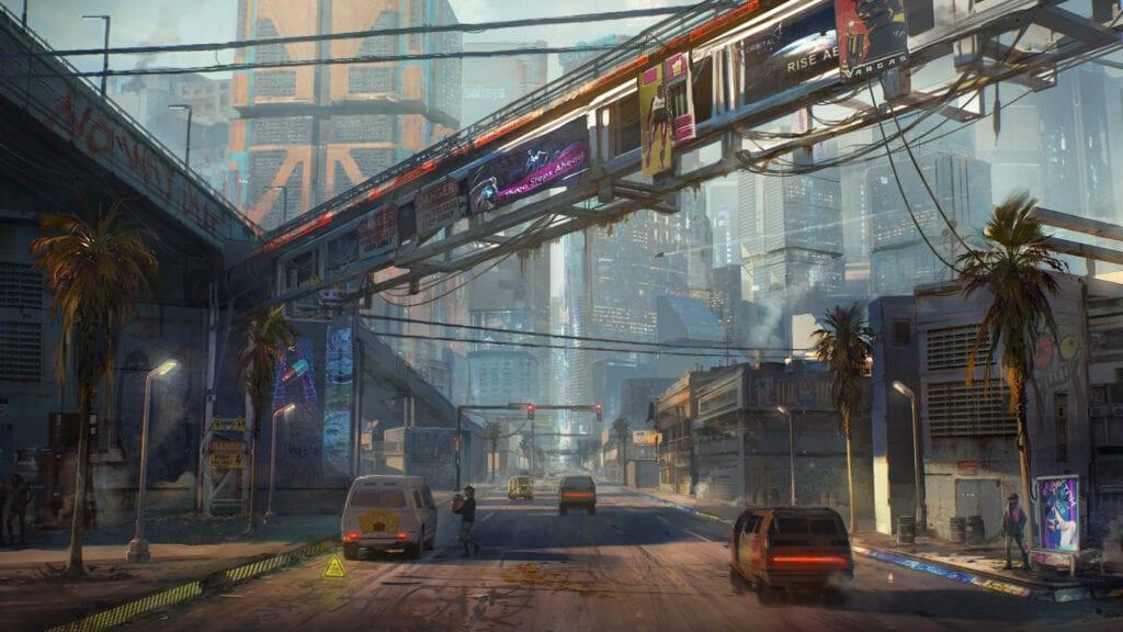 Cyberpunk 2077 Santo Domingo Concept Art