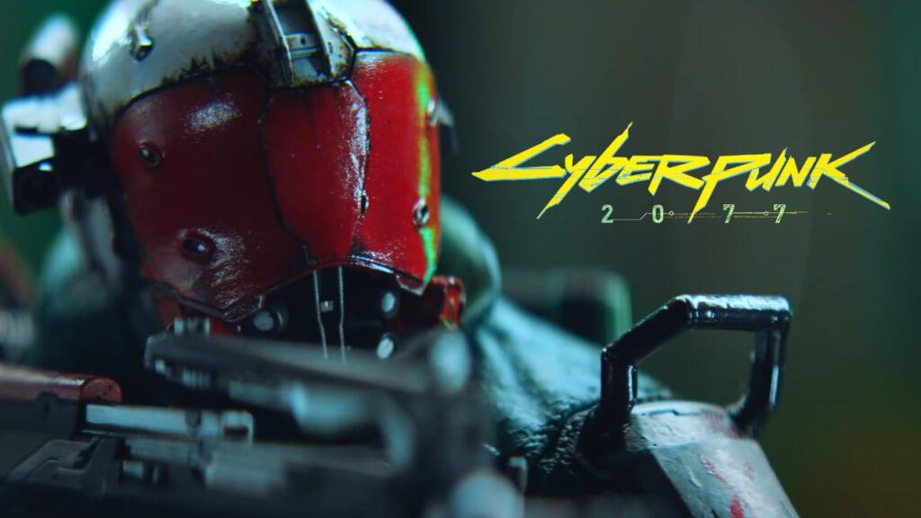 Cyberpunk 2077 Trauma Team Figure