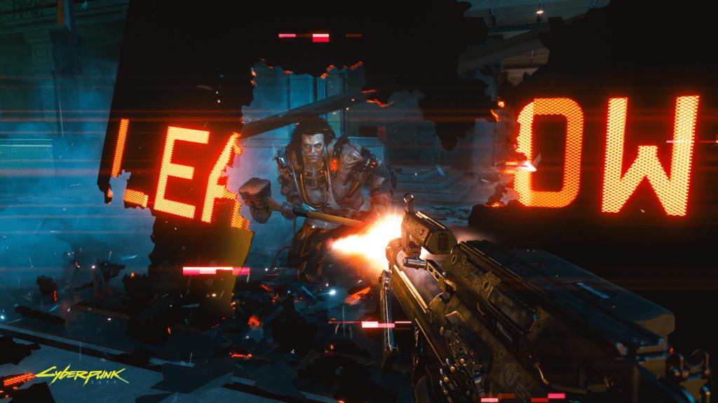 Cyberpunk 2077 Wall Running