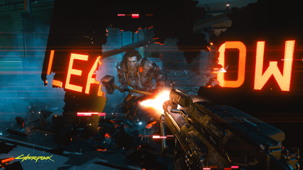 Cyberpunk 2077 Wall Running