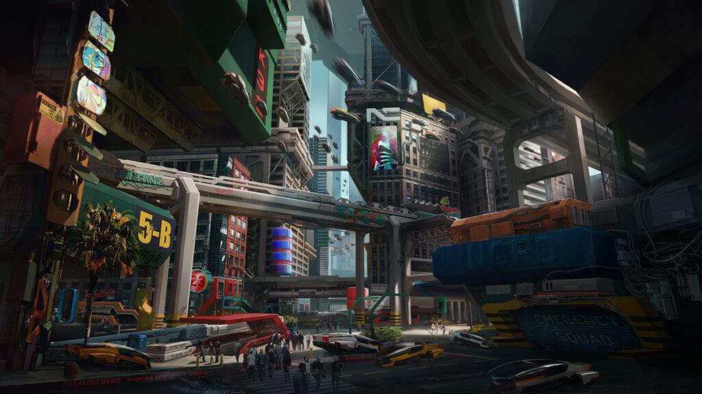 Cyberpunk 2077 Night City Watson District