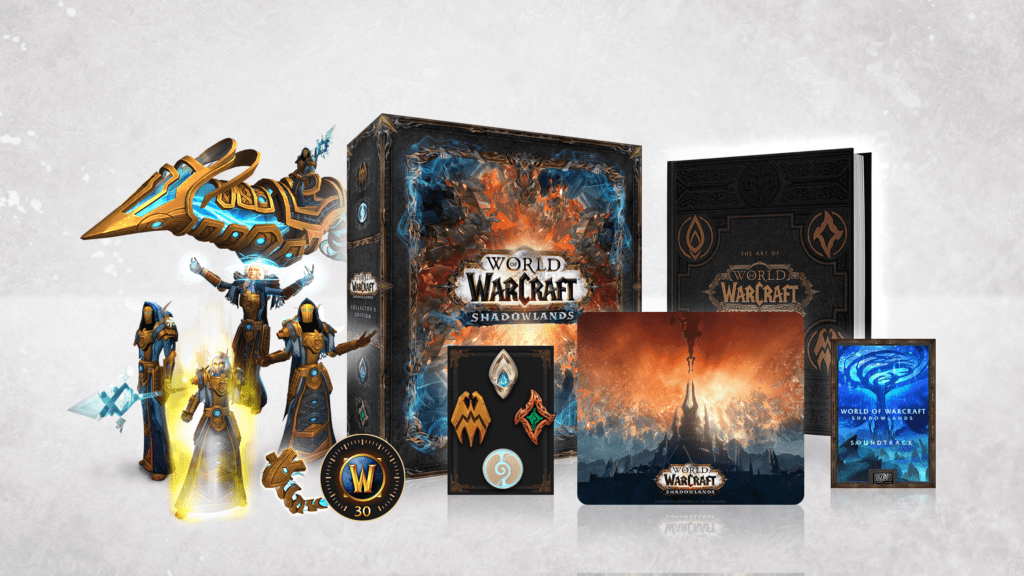 World of Warcraft Shadowlands Collector's Edition