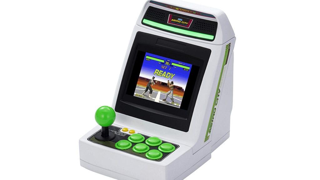 SEGA astro city mini arcade