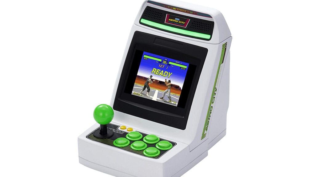 SEGA astro city mini arcade