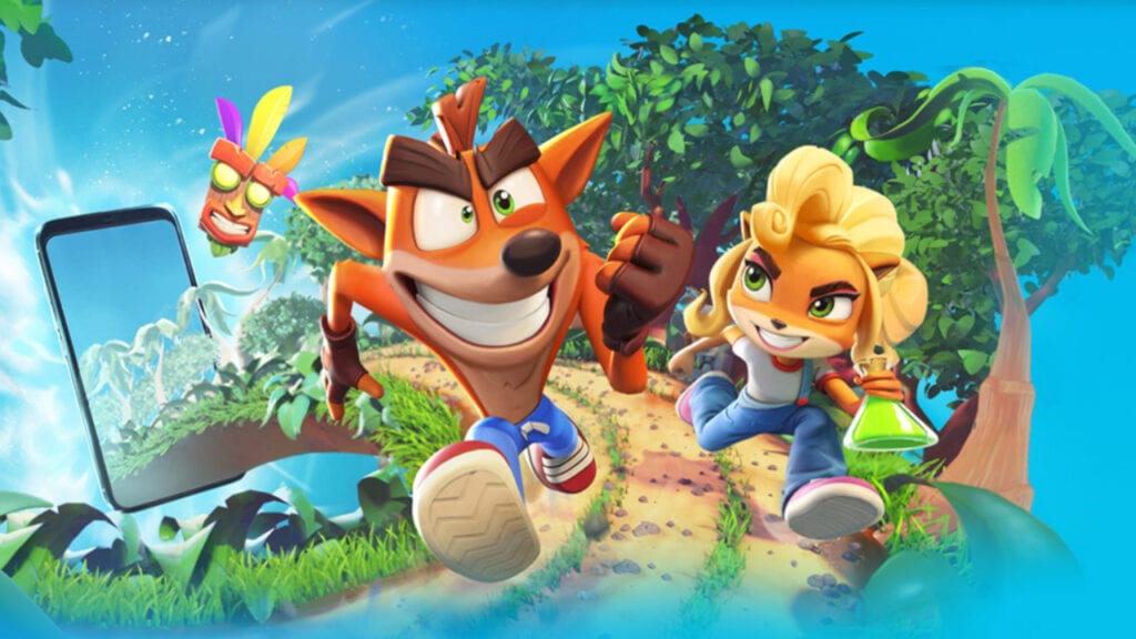 crash bandicoot on the run mobile
