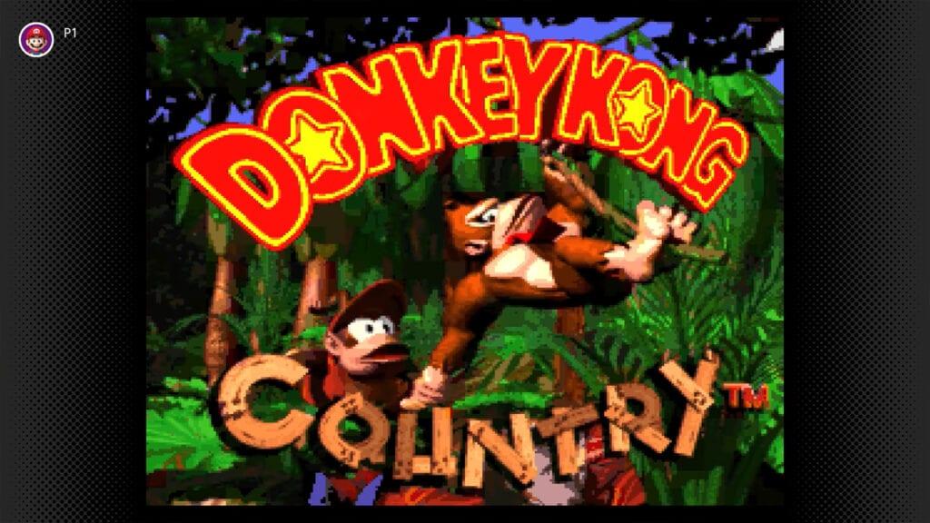 Donkey Kong Country Nintendo Switch