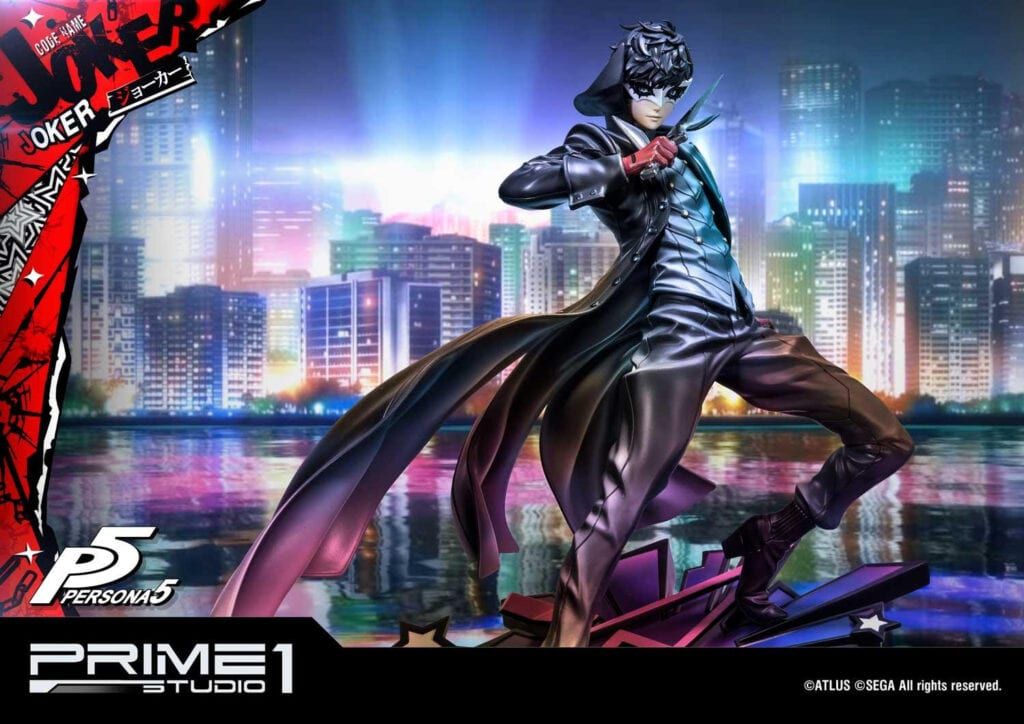 This Expensive Persona 5 Joker Figure Won't Take Your Heart, Just Your Wallet (VIDEO)