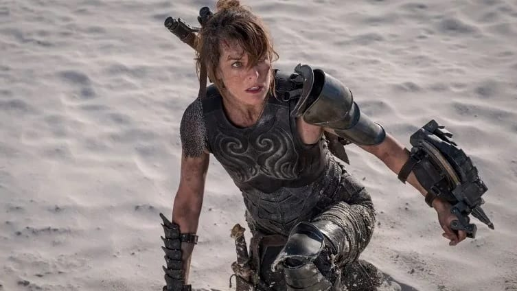 New Monster Hunter Movie Set Photo Shows Off Milla Jovovich's Dual Wielding Skills
