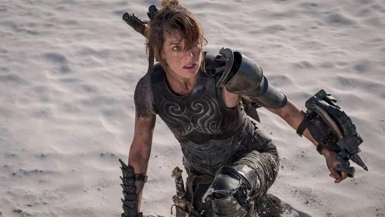 New Monster Hunter Movie Set Photo Shows Off Milla Jovovich's Dual Wielding Skills
