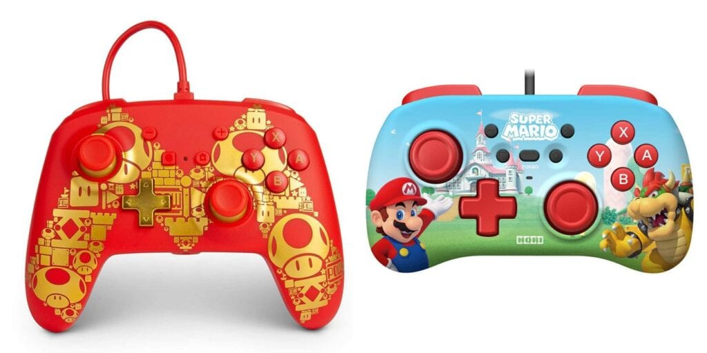 Mario 35th anniversary controllers