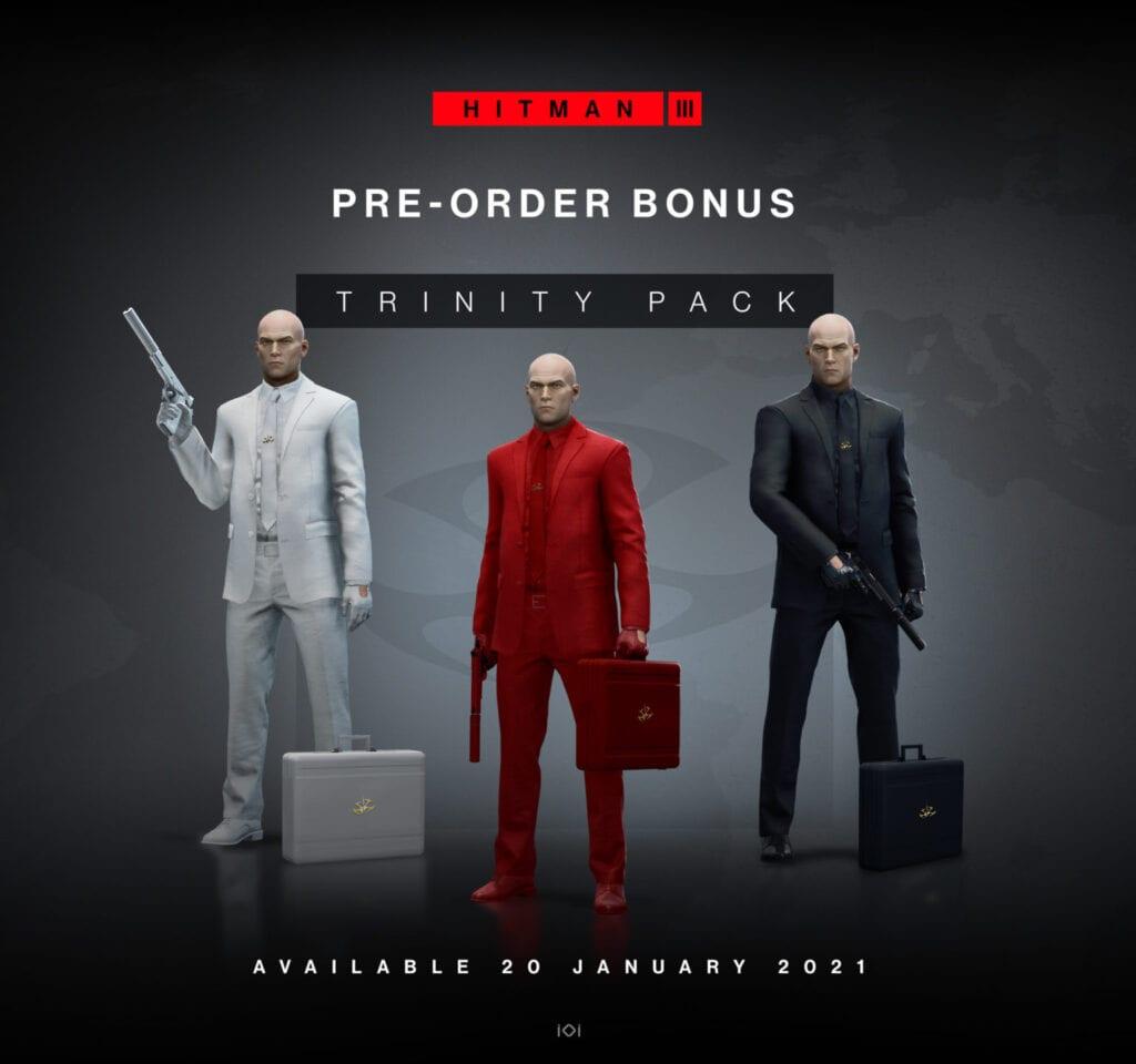 Hitman 3 pre-order bonus