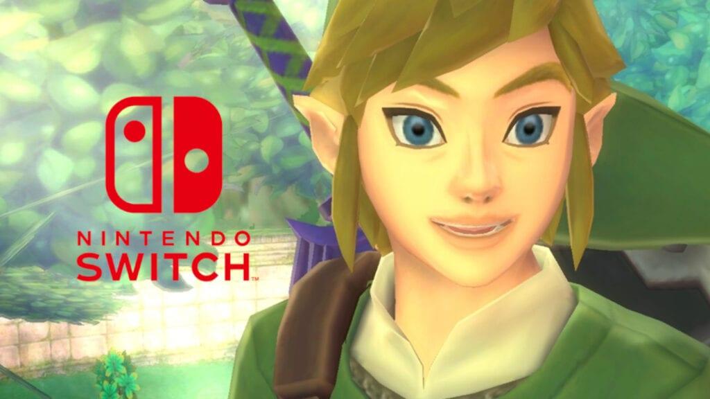 The Legend of Zelda Skyward Sword Nintendo Switch Amazon Leak