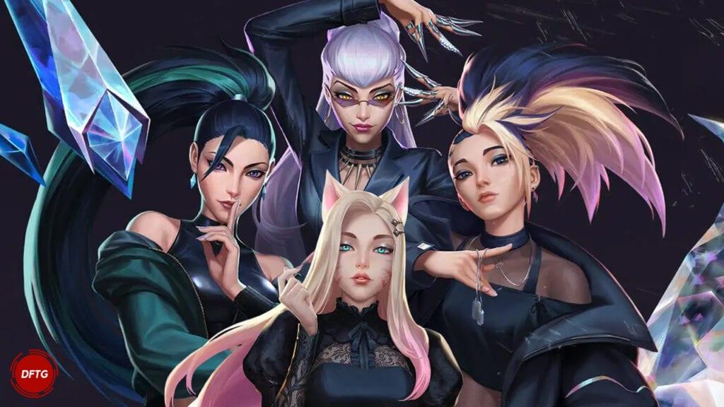 K/DA League of Legends Ahri Evelynn Kai'Sa Akali