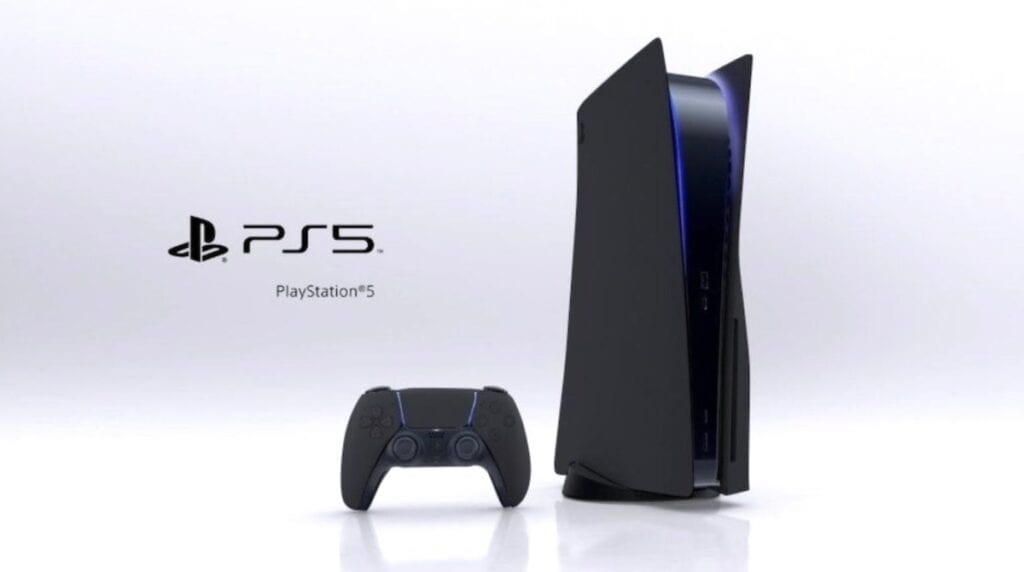 PS5 Black DualSense Controller Reportedly Leaked