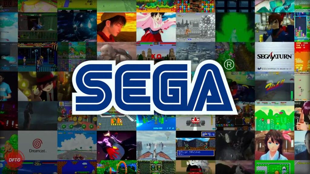 SEGA classic games logo