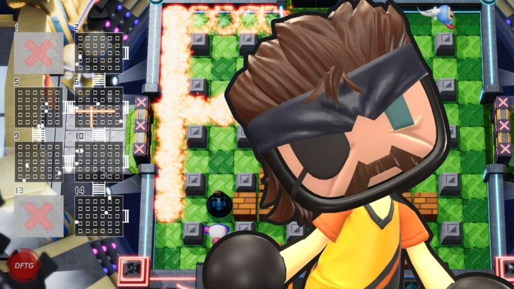 Super Bomberman R Online Naked Snake
