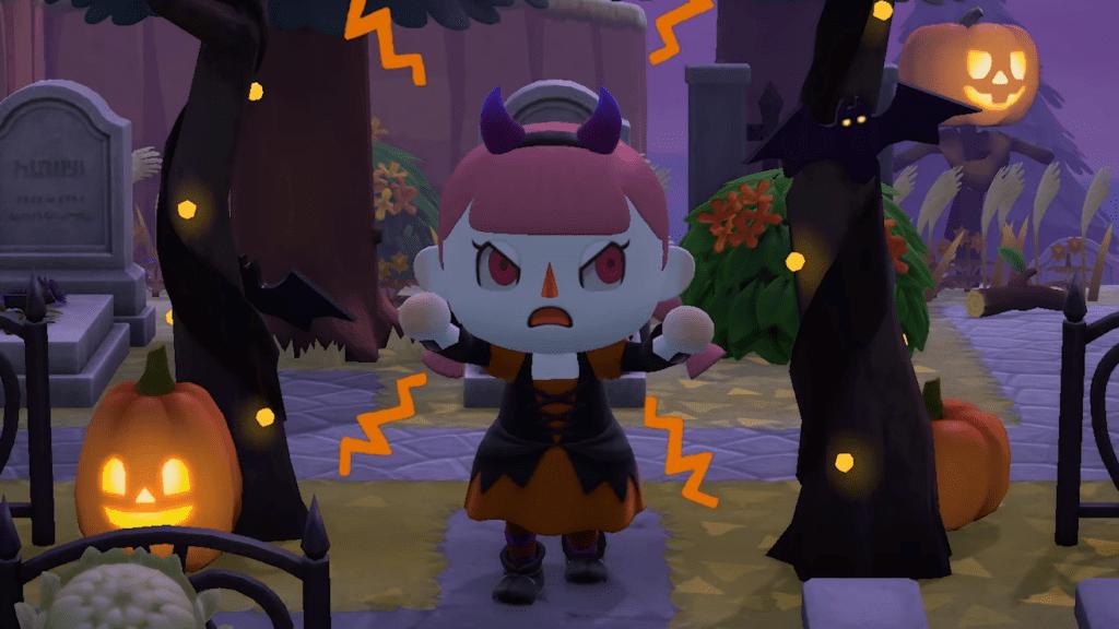 Animal Crossing New Horizons Fall Update Halloween