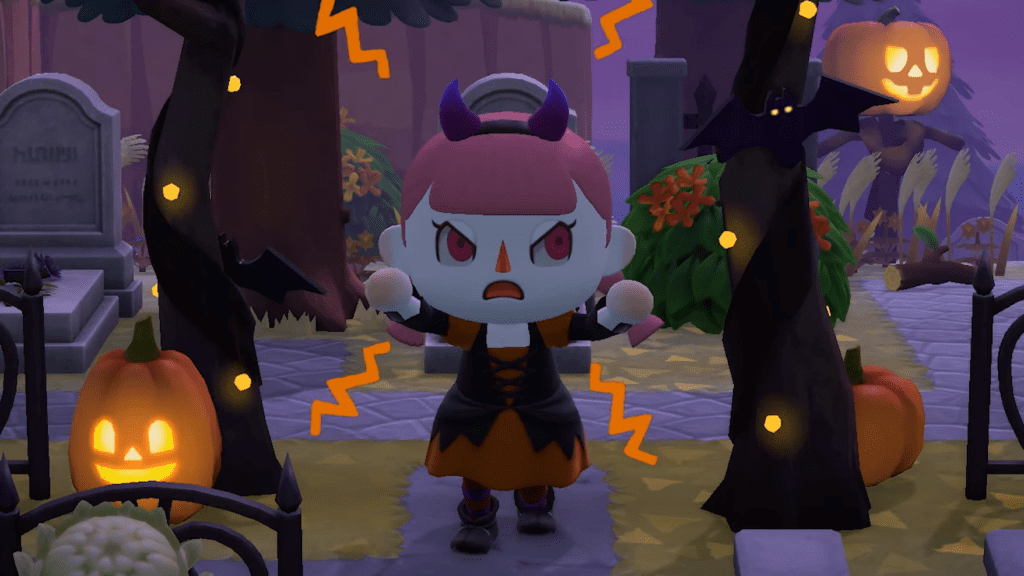 Animal Crossing New Horizons Fall Update Halloween