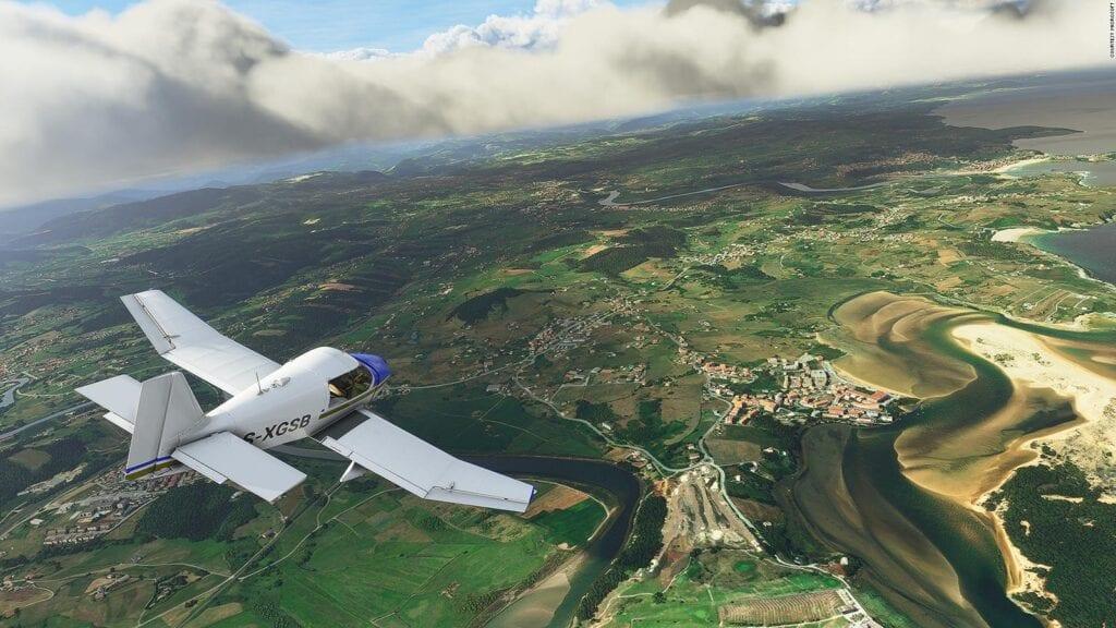 Microsoft Flight Simulator VR