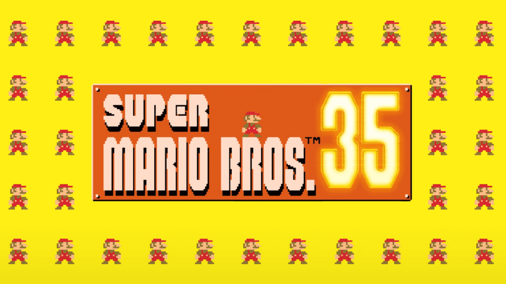 Super Mario Bros. 35 Battle Royale Nintendo Switch
